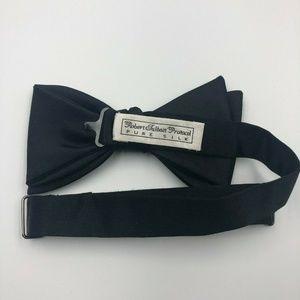 Robert Talbott Protocol Mens Bow Tie Black